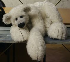Big Polar Bear with free pattern!!