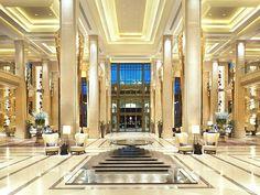 A grand entrance. Welcome to Siam Kempinski Hotel Bangkok Thailand Design Room, Home Design, Design Ideas, Interior Design, Interior Sketch, Floor Design, Design Design, Hotel Lobby Design, Modern Hotel Lobby