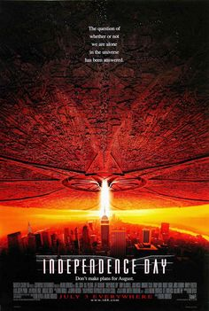 A függetlenség napja (Independence Day) 1996 Independence Day 1996, Fiction Movies, Sci Fi Movies, Movies To Watch, Science Fiction, Cult Movies, Film Movie, See Movie, Movie Sequels