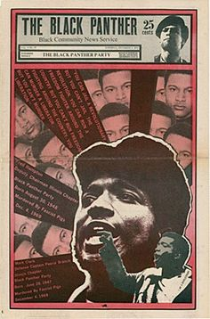 Fred Hampton  The Black Panther newspaper (December 5, 1970)  Artist: Emory Douglas