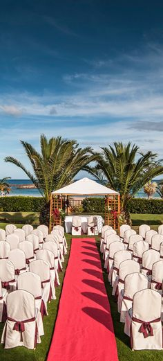 Garden Wedding. Sheraton Fuerteventura Beach, Golf & Spa Resort Canary Isle.