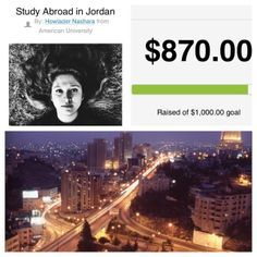 Congrats to Howlader, our 'Abroad101 Student of the Week' #0003. Howlader, a student at American University, is fundraising to study abroad in Jordan with CIEE: Council on International Educational Exchange. Howlader will receive sponsorship from Abroad101 for this trip.