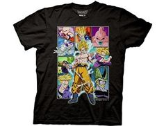 Ripple Junction Dragon Ball Z character frame Collage Adult Tshirt, $19.95 - $27.99. BUY NOW!