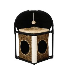 Cat Bed, Tuodas Multifunctional Cat Condo House with Scratching Posts Kitty Toys Assemble Pet Bed Play House >>> You can get more details by clicking on the image. (This is an affiliate link) Cat Tree Condo, Cat Condo, Cat Climbing Tree, Cat Activity, Scratching Post, Sisal, Multifunctional, Cat Toys, Pet Supplies