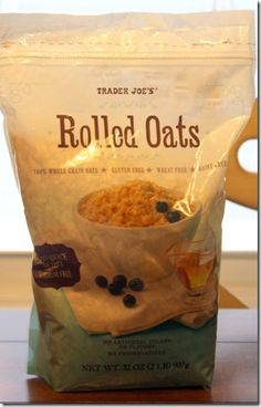 Gluten Free Oats from Trader Joe's - and not so expensive as other brands, apparently