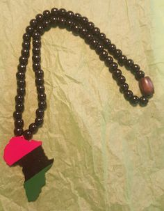 Rock your RBG style with this hand painted RBG Africa and Black Beads.    22 1/2 Inches Long    Dare to Be Original | Shop this product here: spreesy.com/3rdEyeDiva/265 | Shop all of our products at http://spreesy.com/3rdEyeDiva    | Pinterest selling powered by Spreesy.com
