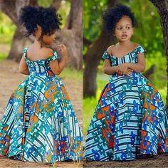 Latest Ankara Dress Styles - Loud In Naija Ankara Styles For Kids, African Dresses For Kids, Ankara Dress Styles, African Children, African Print Dresses, African Dress Designs, African Fashion Ankara, Latest African Fashion Dresses, African Print Fashion