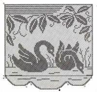 Gallery.ru / Фото #45 - 343 - ergoxeiro Filet Crochet, Romanian Lace, Crochet Birds, Crochet Christmas Ornaments, Chair Covers, Cross Stitch Charts, Projects To Try, Kids Rugs, Album