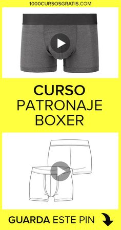 En este curso de patronaje de boxer masculino aprenderás a realizar los patrones de esta maravillosa prenda. Skirt Patterns Sewing, Sewing Patterns Free, Clothing Patterns, African Wear Styles For Men, African Dresses Men, Lingerie Patterns, Sewing Courses, Hand Embroidery Stitches, Love Sewing