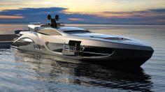 Super Yacht Cruiser SC 199 - Luxus and Diamonds Yacht Design, Boat Design, Yatch Boat, Catamaran, Sport Yacht, Bmw X7, Yacht Broker, Pagani Huayra, Mustang Fastback