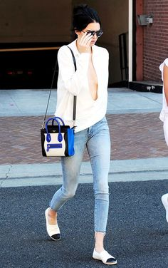 Kendall Jenner Loves Her Céline Nano Luggage Totes More Than I Love Anything I… Celine Bag Mini, Celine Bag Luggage, Celine Nano Bag, Celine Micro Luggage, Celine Handbags, Chanel Handbags, Designer Handbags, Celine Purse, Replica Handbags