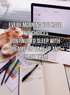 every morning ★·.·´¯`·.·★ follow @motivation2study for daily inspiration