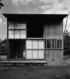 1──増沢洵《最小限住宅》外観 写真=Masuzawa Architects and Associates