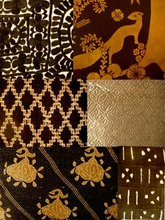 Fabrics....love the colors and patterns