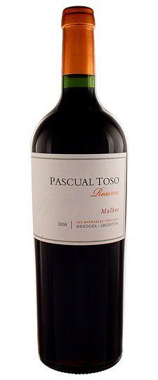 Pascual Toso Reserva - Malbec - Argentina