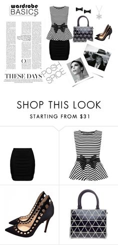 """""""Outfit #14"""" by natania-kereen on Polyvore featuring Zizzi, WearAll, Gianvito Rossi, Victoria Beckham, Marc by Marc Jacobs, vb and PoshSpice"""