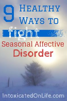 You may be struggling with Seasonal Affective Disorder. There are some things you can do to help yourself deal with SAD safely and naturally.
