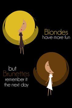 Brunette And Blonde Jokes 69