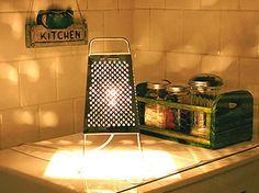 luminária da cozinha