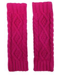 Cable Knit Fingerless Gloves | FOREVER21 - 2000021555