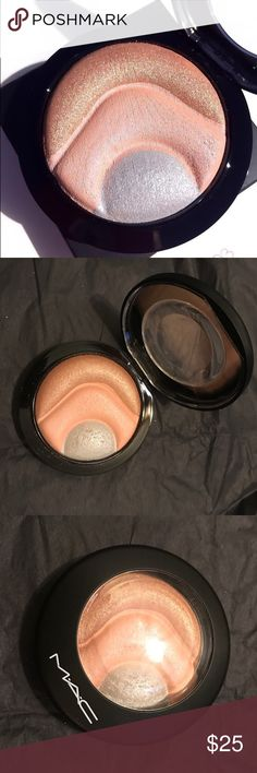 MAC Otherearthly Highlighter Authentic MAC highlighter in Otherearthly. Limited edition. New. No box. MAC Cosmetics Makeup Luminizer