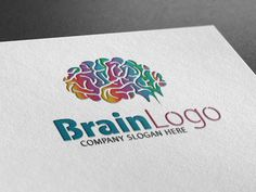 Brain Logo by Creative Dezing on @creativemarket