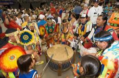 pow wow drummers