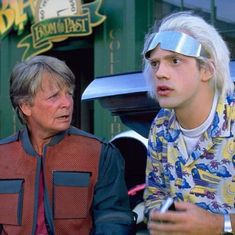 Michael J Fox, Dan Harmon, Justin Roiland, Community Channel, Bttf, Header Image, Man Logo, About Time Movie, Back To The Future