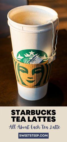 See all the Starbucks tea latte drinks on their menu, hot and iced. #starbucks #tea #latte #drinks #orders #best #teavana Starbucks Tea, How To Order Starbucks, Tea Latte, Warm In The Winter, Iced Tea, Barista, Chai, Matcha, Menu