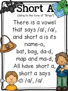 Free Short Vowel Songs