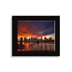 "Manhattan Glow Wall Art (20x24"") $70"