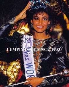 Giselle La Ronde'....won Miss World in 1986