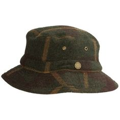 36303d545dc Woolrich Plaid Bucket Hat - Wool (For Men and Women)