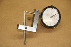 """Dial Indicator Holder by Catfish -- Homemade dial indicator holder fabricated from 1/2"""" square steel bar stock. Features stainless rods and set screw rod retention. http://www.homemadetools.net/homemade-dial-indicator-holder-5"""