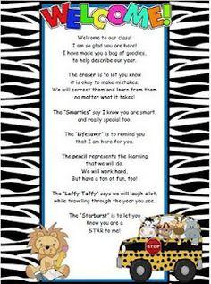 cute poem idea