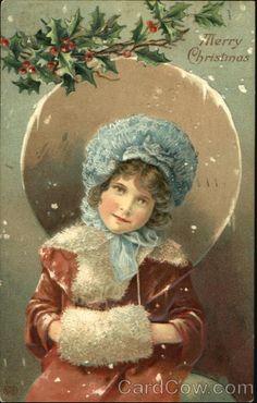 Girl Merry Christmas