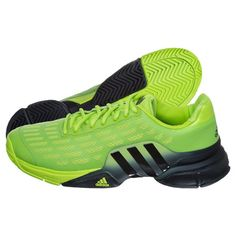 finest selection 2ede6 85f3c adidas Barricade 2016 All Court Shoe Men - Lime, Black buy online