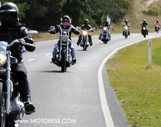 """Done correctly motorcycle group riding is a safe way to ride. With more than one, you become a much larger """"object"""" on the road for motorists to see. Beginner Motorcycle, Motorcycle Tips, Motorcycle Travel, Motorcycle Outfit, Ninja Motorcycle, Motorcycle Quotes, Women Riding Motorcycles, Triumph Motorcycles, Custom Motorcycles"""