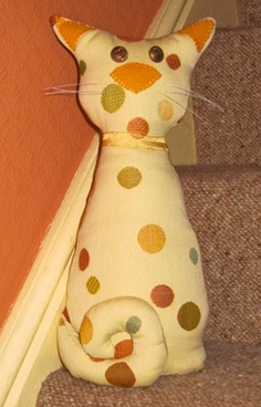 Cat Doorstop pattern