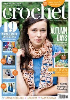 leka: Inside Crochet № 69 2015 Knitting Books, Crochet Books, Loom Knitting, Knitting Patterns, Crochet Patterns, Crochet Chart, Love Crochet, Crochet Stitches, Knit Crochet