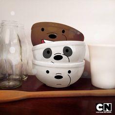 We Bare Bears Wallpapers, We Bear, Bear Wallpaper, Cool Mugs, Cool Things To Buy, Geek Stuff, Stationery, Diy Crafts, Cartoon