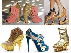 Airships and Petticoats: Crazy Baroque Shoes