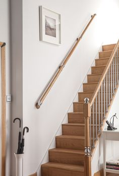 Wooden Handrails for Stairs Full Size Image Handrail