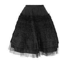 Alexander McQueen - Tulle Skirt