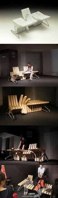 Public Chair Idea, Really Cool