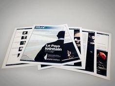 Studio MEZKLADOR // Publishing : dossier de diffusion du spectacle Le Pays Lointain Diffusion, Software Testing, Hardware Software, Spectacle, Print Design, Studio, Projects, Log Projects, Blue Prints