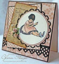 Gloria's cards are divine fantastic.