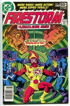 Firestorm 5 1st Series DC 1978 VF NM- Gerry Conway Al Milgrom