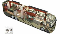 "RV Tour Bus - might ""go camping"" like this though!"