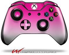 Video Game Accessories Reasonable Smooth Fades Neon Teal Hot Pink Skin For Xbox One Controller Moderate Price Video Games & Consoles